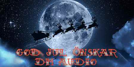 GOD JUL ÖNSKAR DM AUDIO